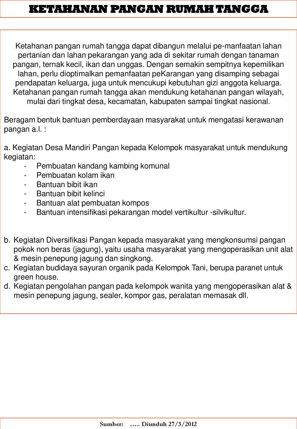 KAJIAN LINGKUNGAN DAN PEMBANGUNAN - ppt download