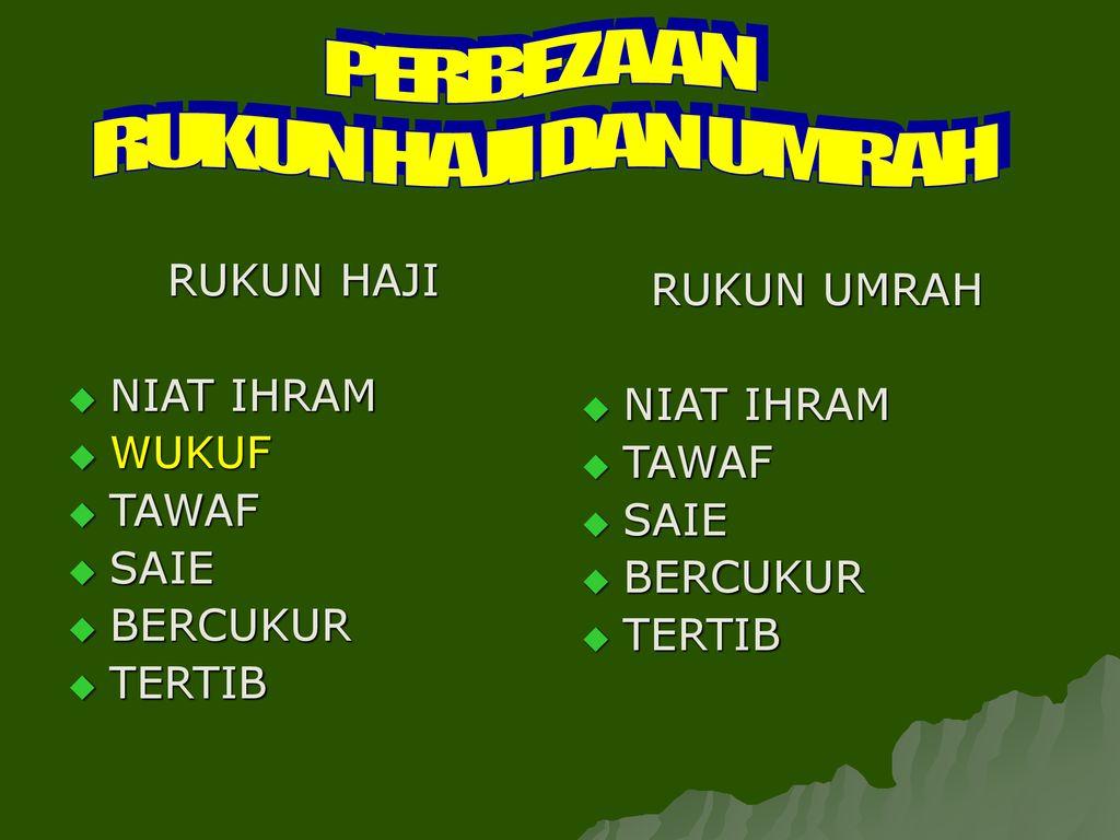 Cara Menyempurnakan Ibadah Haji Dan Umrah Ppt Download