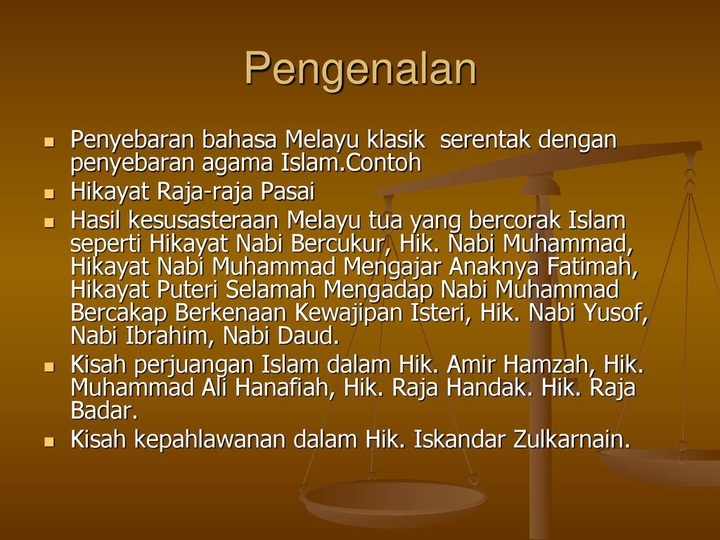 Kuliah 12 Penyebaran Bahasa Melayu Klasik Di Dunia Melayu Ppt Download