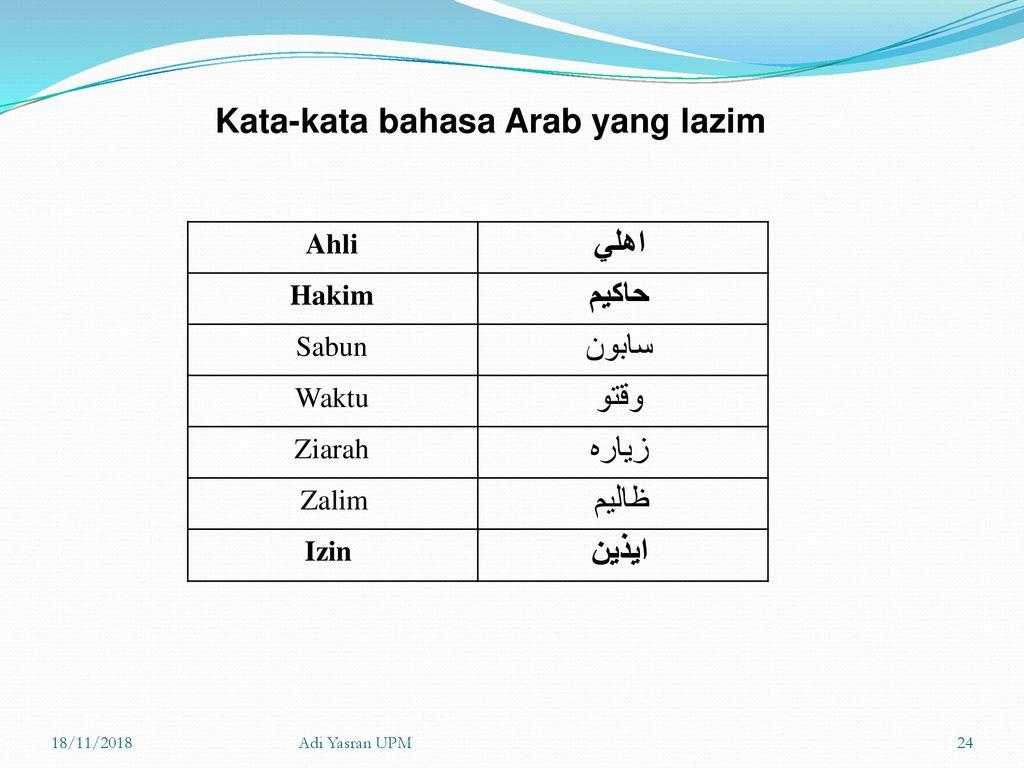 Bbm3402 Sistem Tulisan Jawi Ppt Download