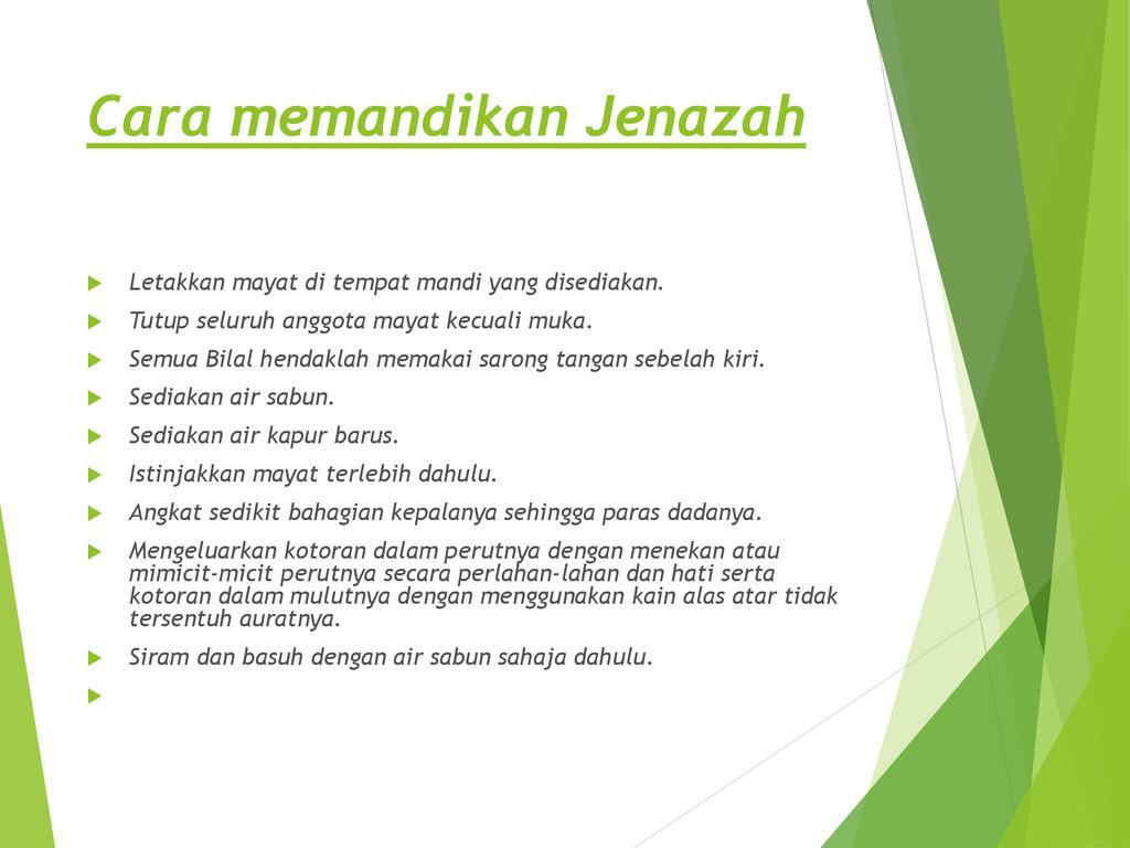 Kursus Pengurusan Jenazah Amali Sembelihan Ppt Download