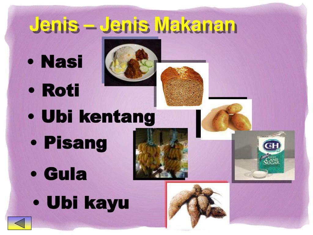 Kelas Makanan Karbohidrat Lemak Garam Mineral Pelawas Protein