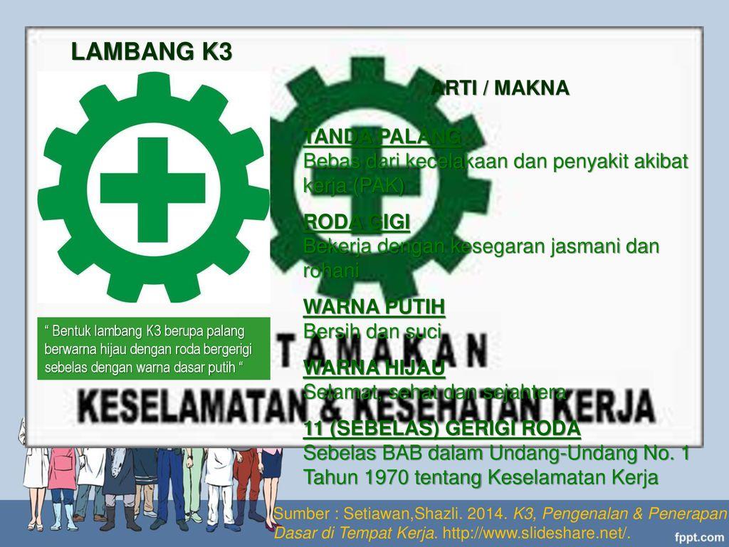 Ruang Lingkup Dan Simbol K3 Keselamatan Kesehatan Kerja Ppt Download