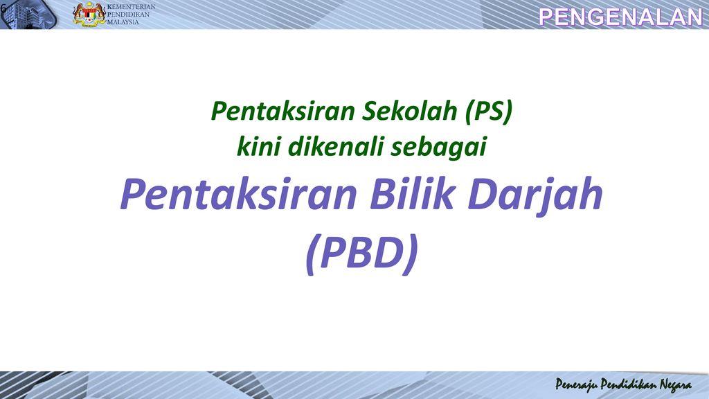 Pentaksiran Bilik Darjah Ppt Download
