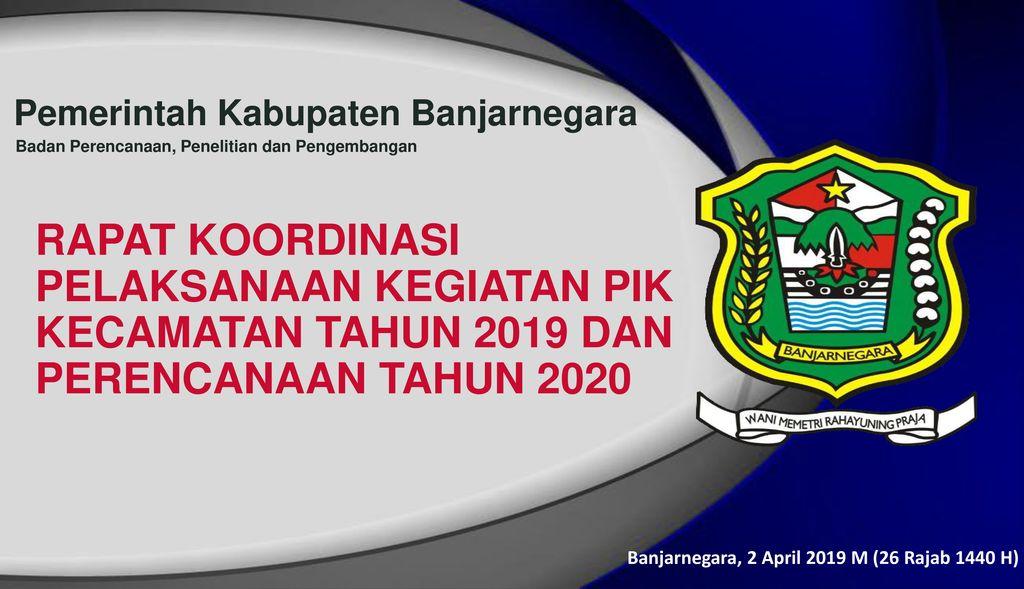 Pemerintah Kabupaten Banjarnegara Ppt Download