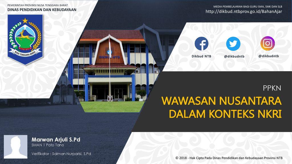 Wawasan Nusantara Dalam Konteks Nkri Ppt Download