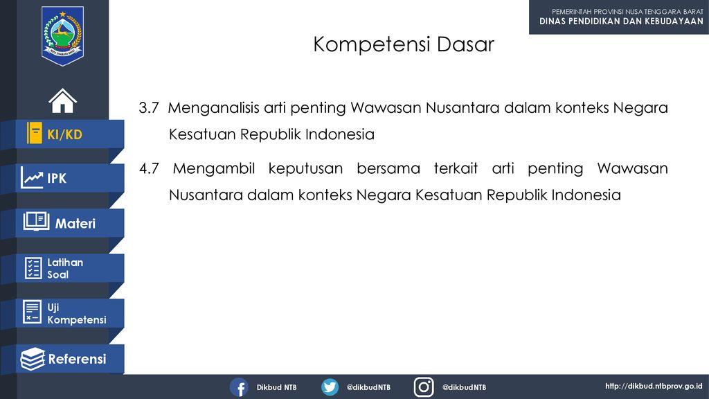 Kesimpulan Wawasan Nusantara Dalam Konteks Negara Kesatuan Republik Indonesia