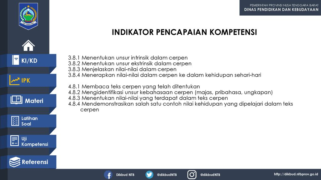 Cerpen Bahasa Indonesia Suharman S Pd Ppt Download