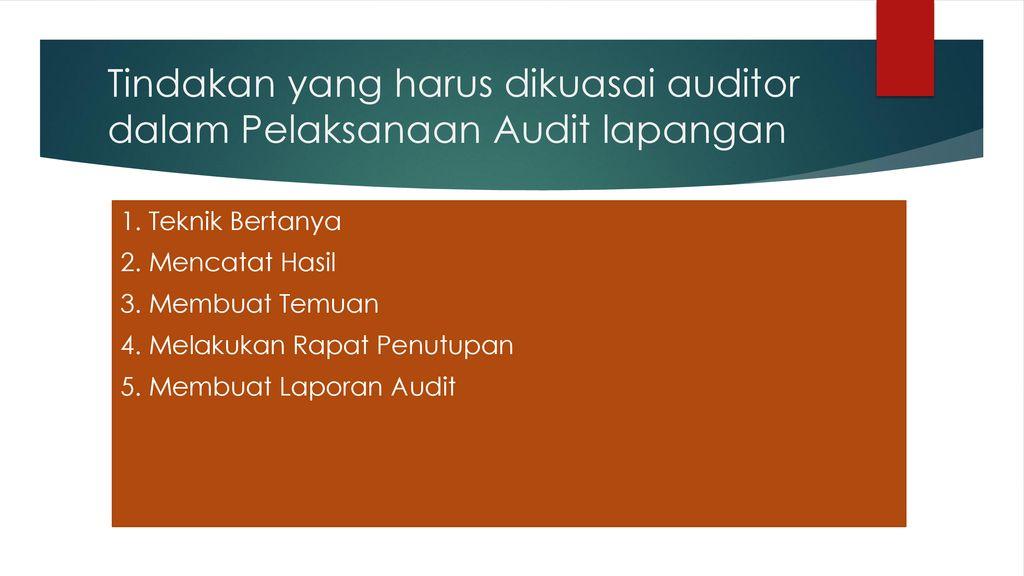 Praktik Audit Mutu Internal Ppt Download