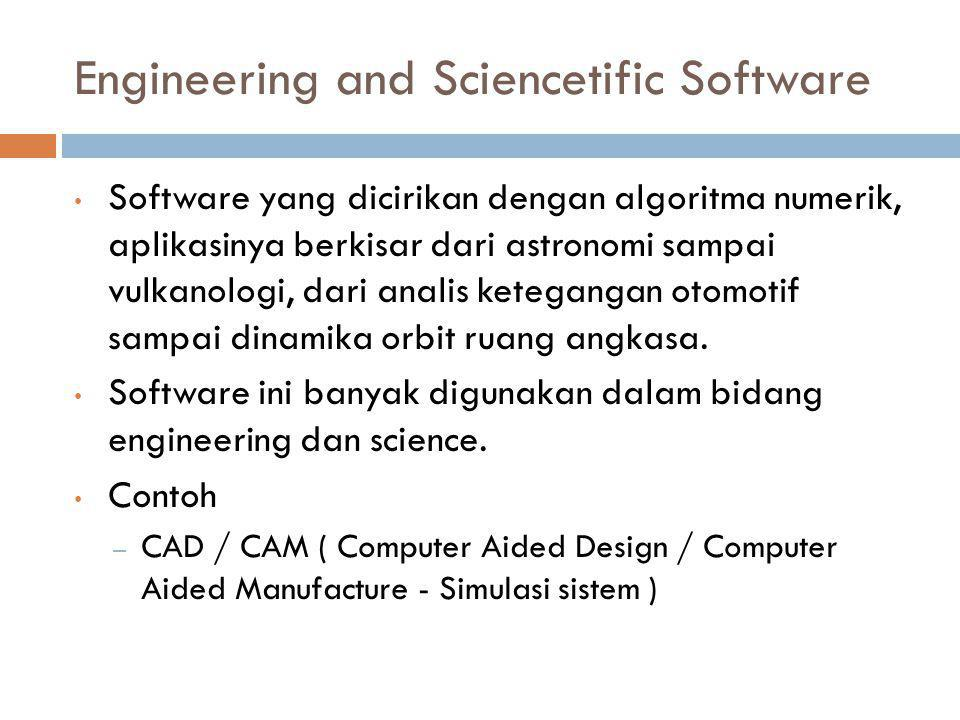 Engineering and Sciencetific Software