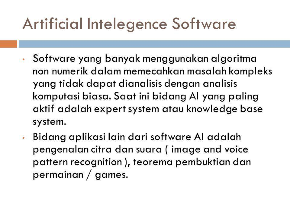 Artificial Intelegence Software