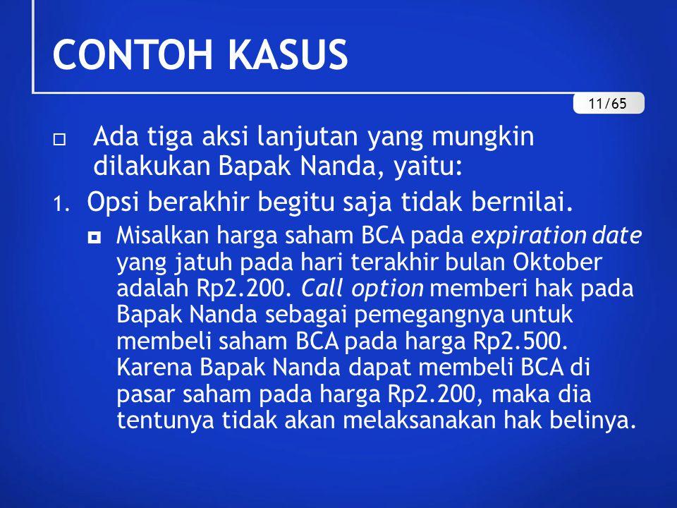 dapatkah kita memperdagangkan forex di indonesia contoh opsi call