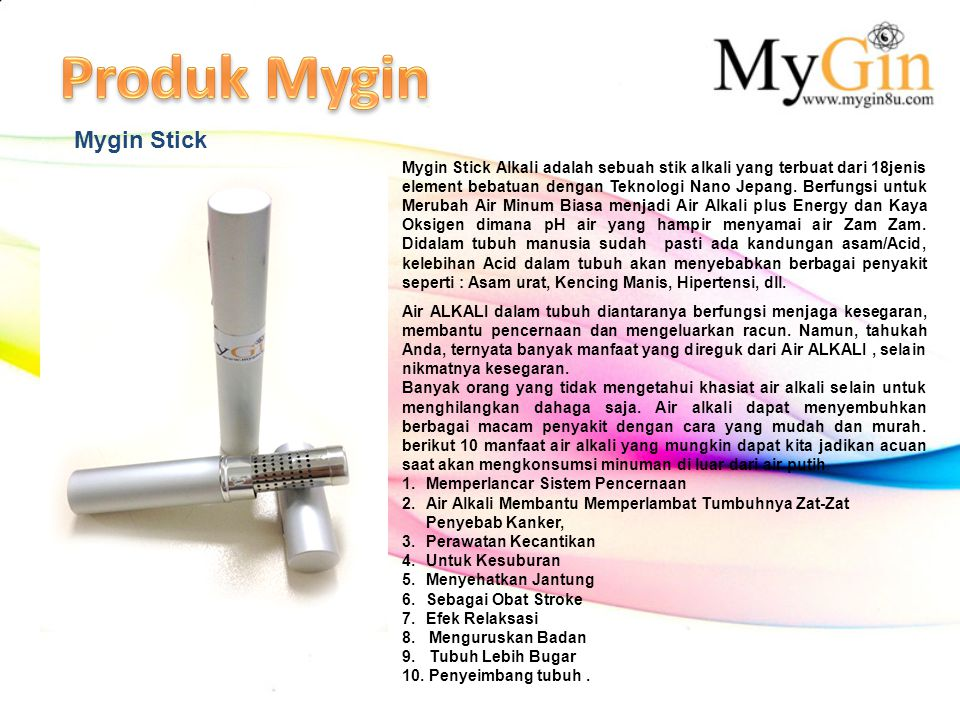 Produk Mygin Mygin Stick
