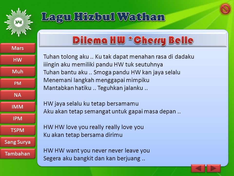 Dilema HW *Cherry Belle