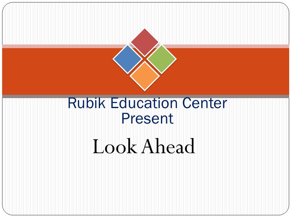 Rubik Education Center Present