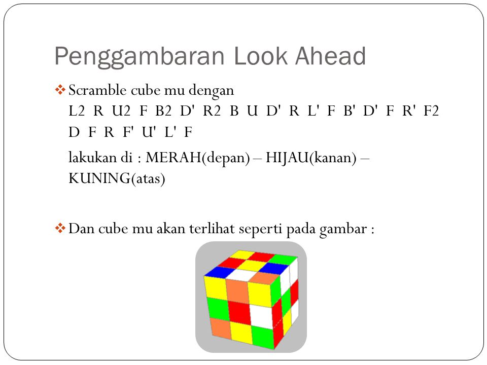 Penggambaran Look Ahead