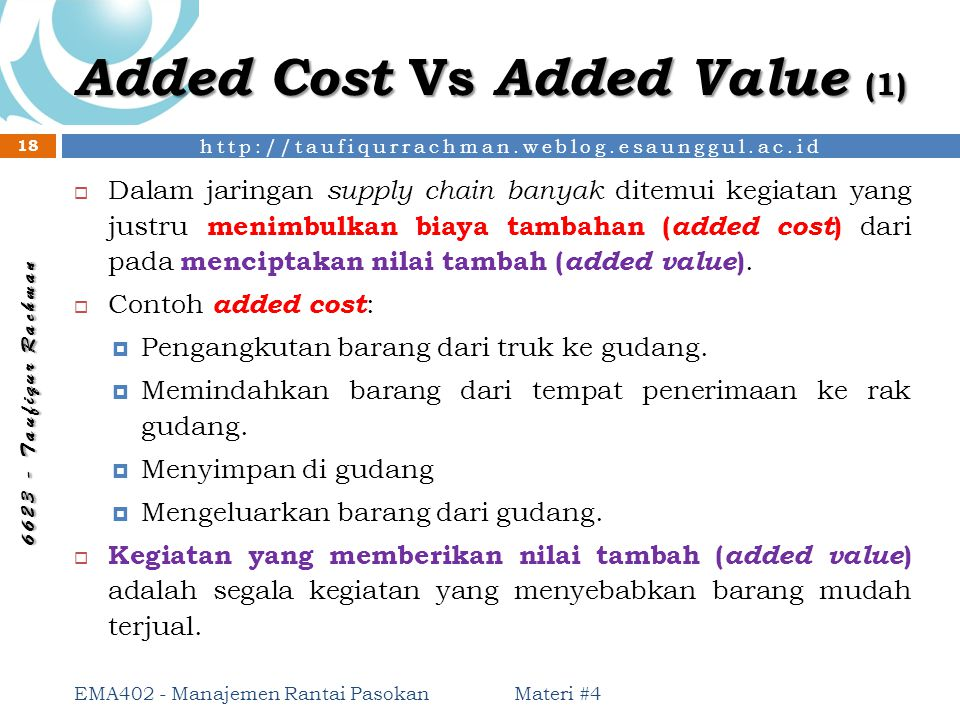 Added Cost Vs Added Value (1)