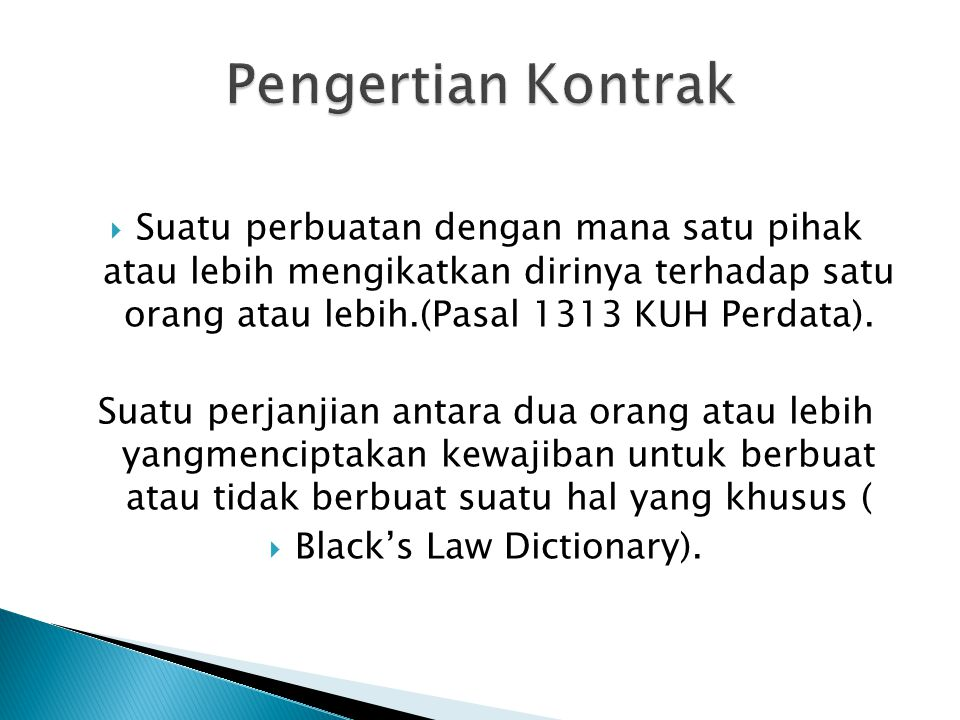 Black's Law Dictionary).