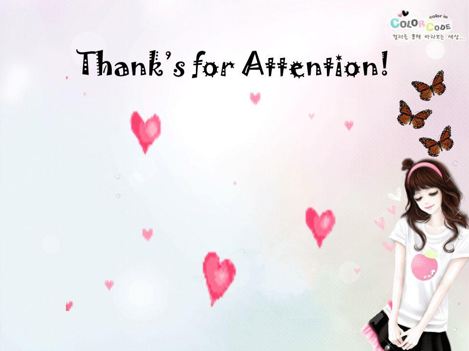 Thank's for Attention!