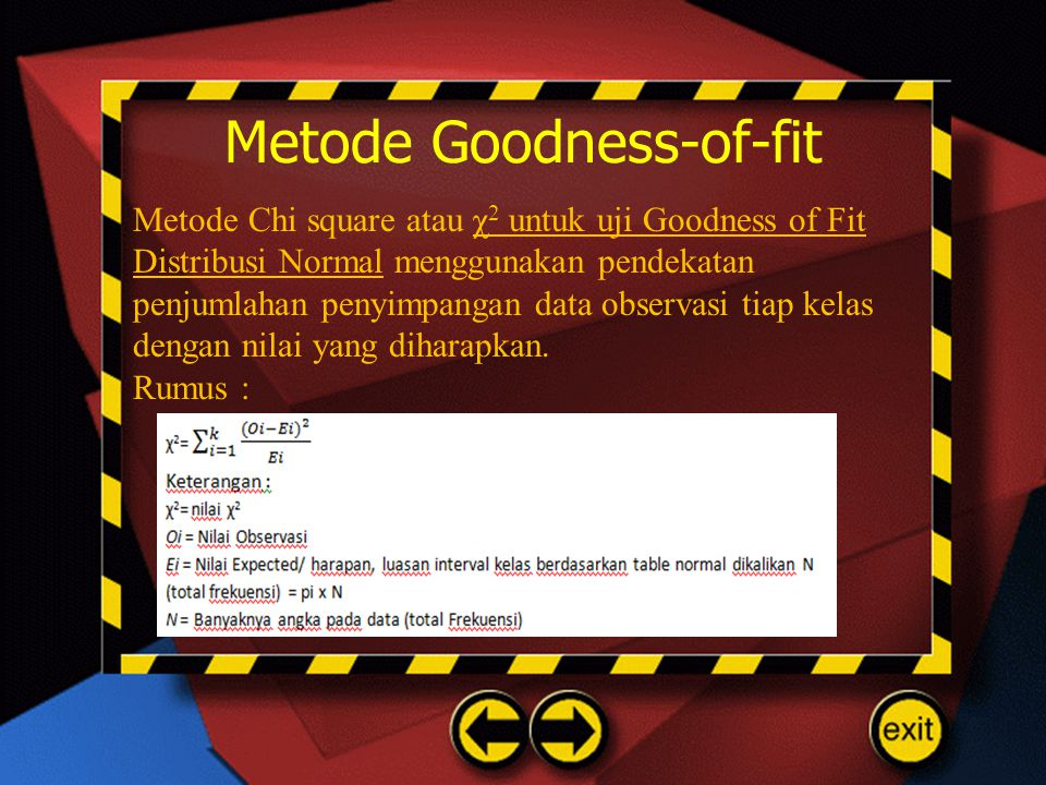 Metode Goodness-of-fit