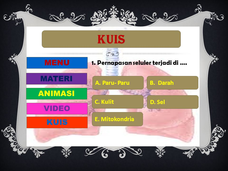 KUIS MENU MATERI ANIMASI VIDEO KUIS