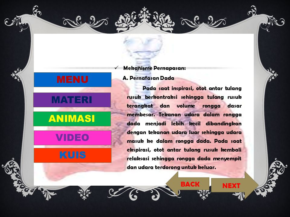 MENU MATERI ANIMASI VIDEO