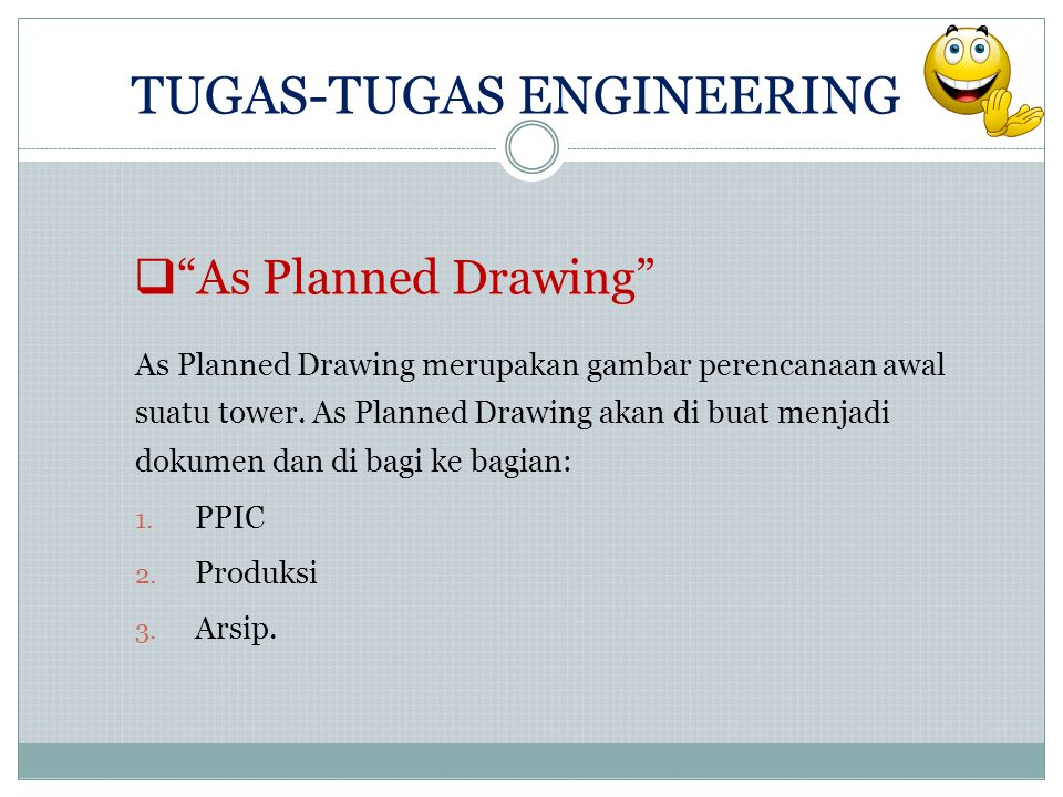 TUGAS-TUGAS ENGINEERING