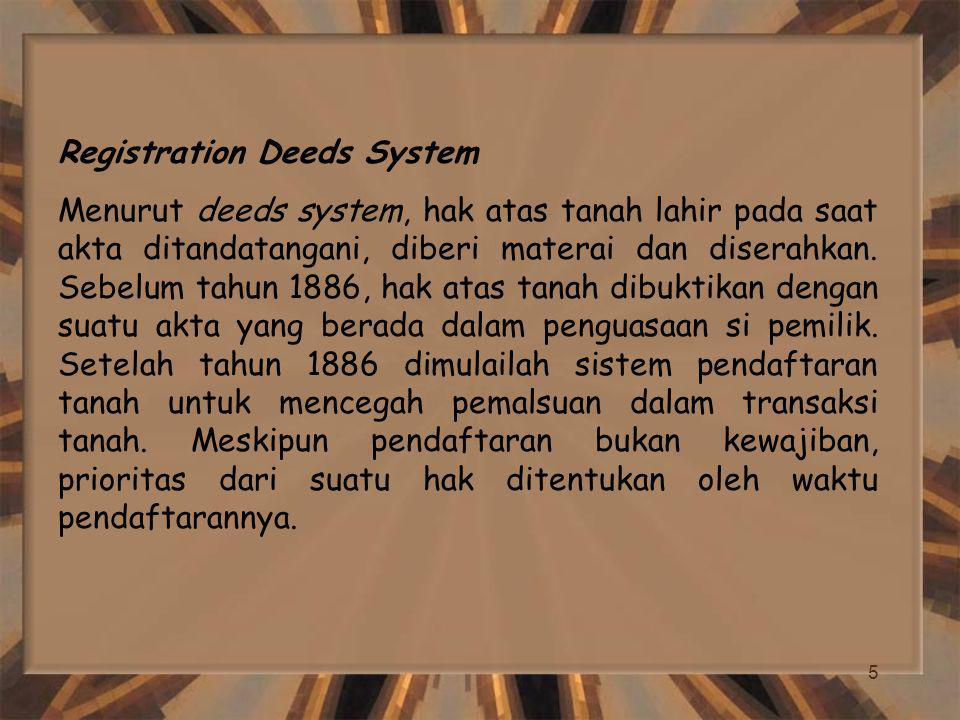 Registration Deeds System