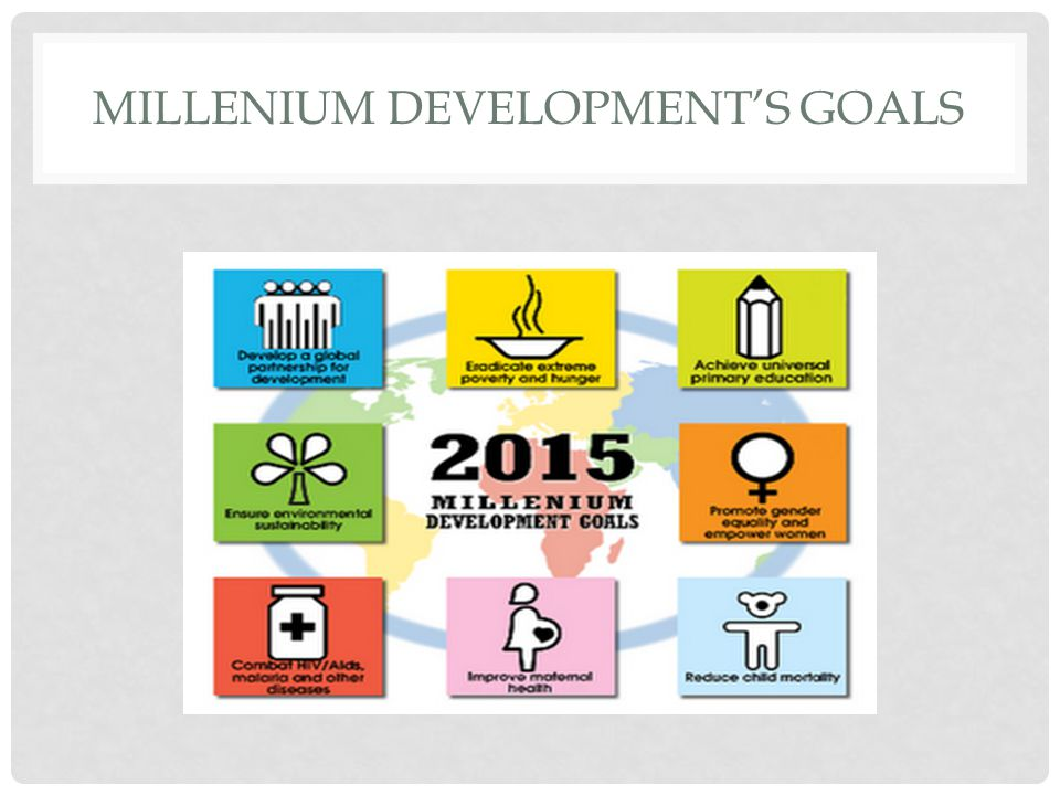 Millenium Development's Goals