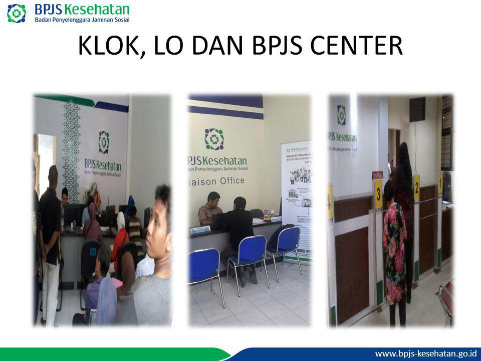 KLOK, LO DAN BPJS CENTER