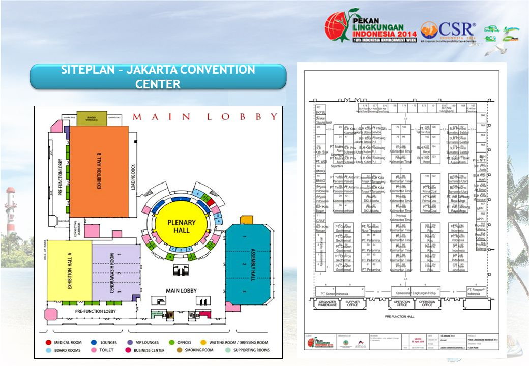 SITEPLAN – JAKARTA CONVENTION CENTER