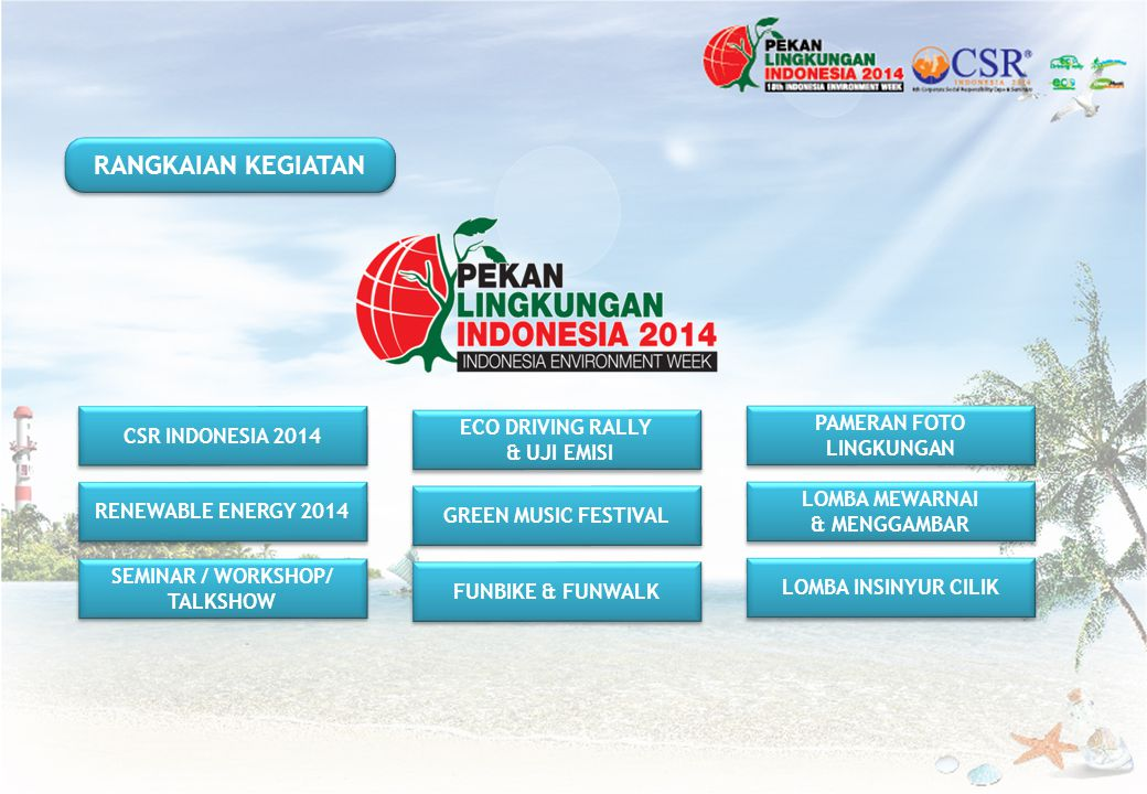 PAMERAN FOTO LINGKUNGAN SEMINAR / WORKSHOP/ TALKSHOW