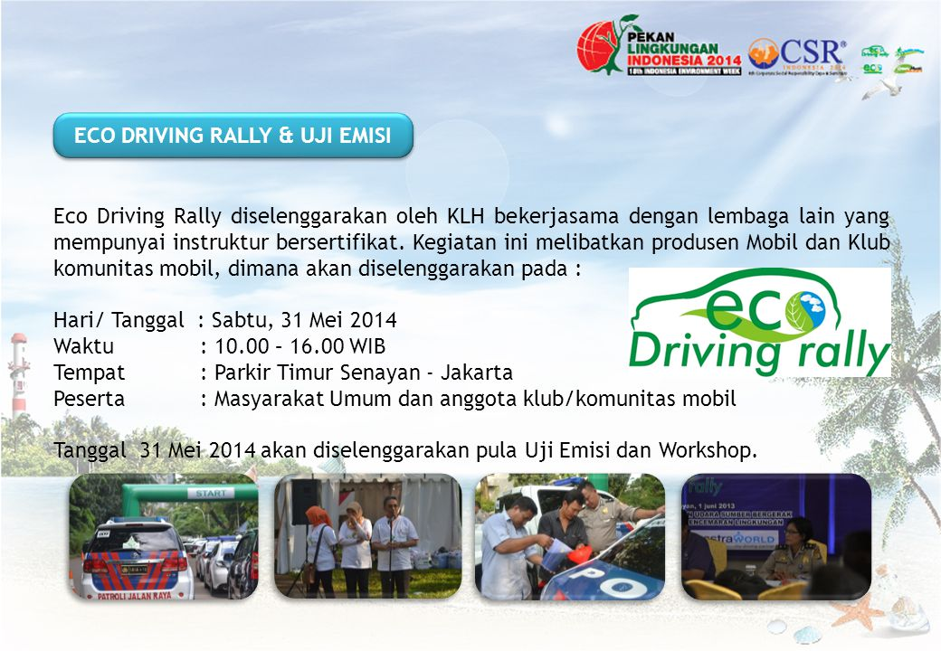 ECO DRIVING RALLY & UJI EMISI