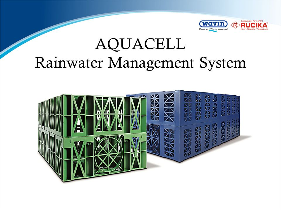 AQUACELL Rainwater Management System