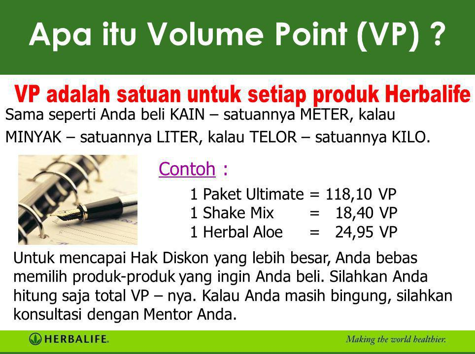 Apa itu Volume Point (VP)