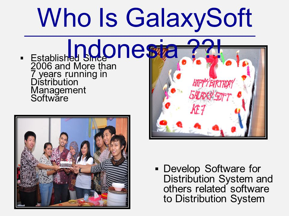 Who Is GalaxySoft Indonesia !