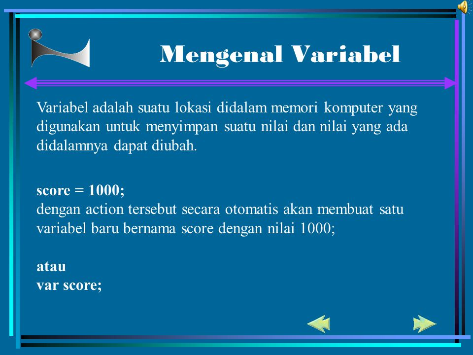 Mengenal Variabel