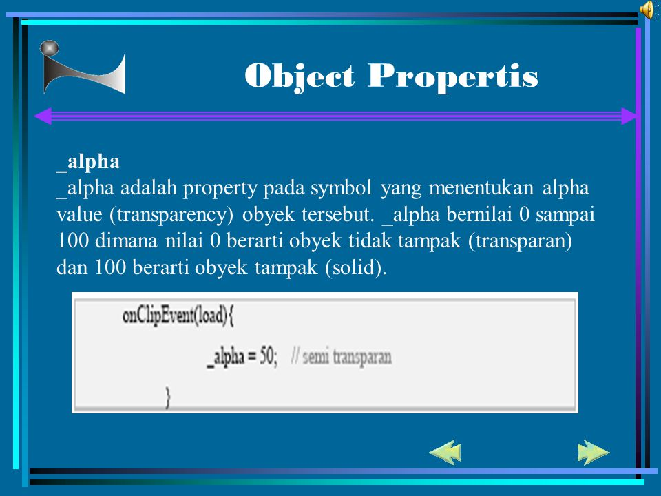 Object Propertis _alpha