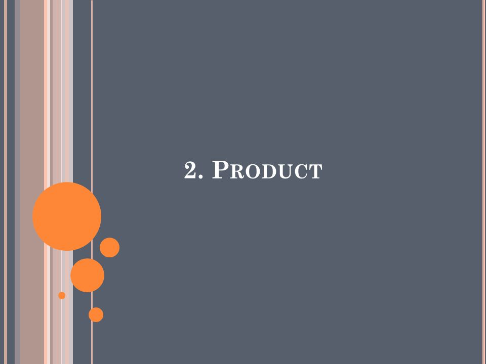 2. Product