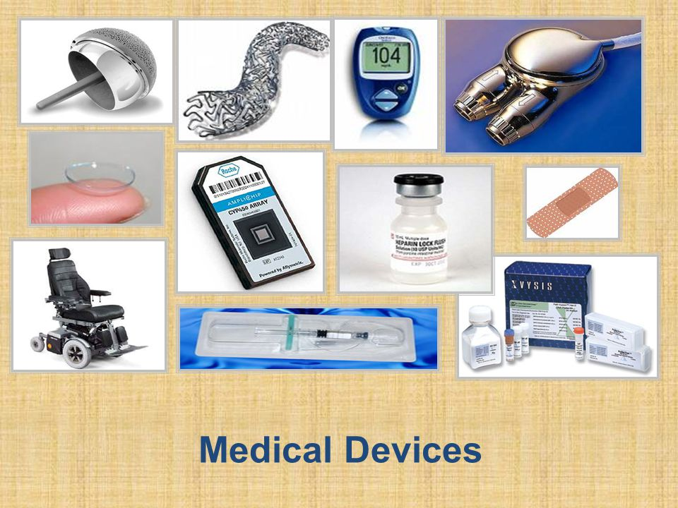 Medical devices come in all shapes and sizes.