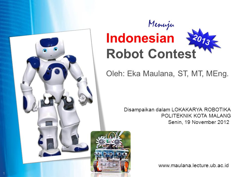 Indonesian Robot Contest
