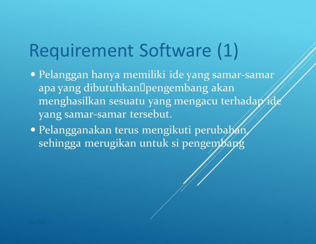 Requirement Software (1)