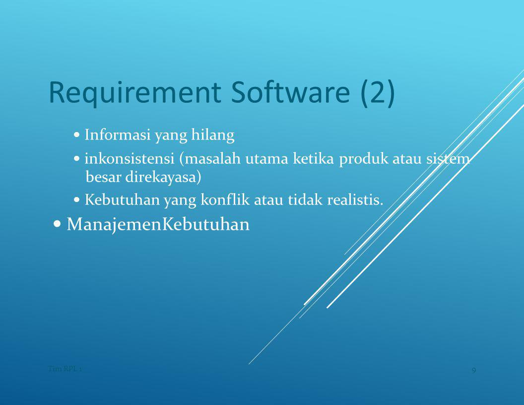 Requirement Software (2)