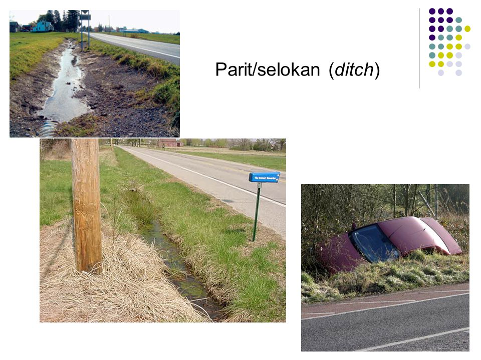Parit/selokan (ditch)