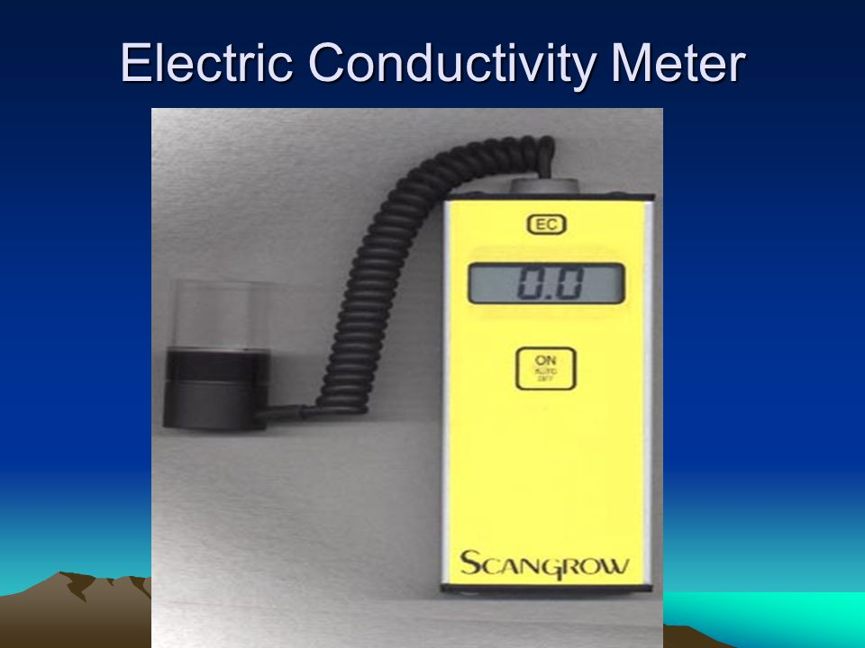 Electric Conductivity Meter