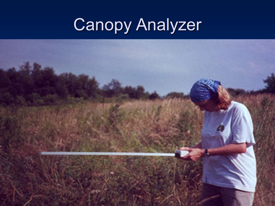 Canopy Analyzer