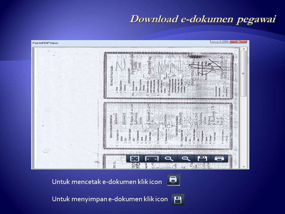 Download e-dokumen pegawai