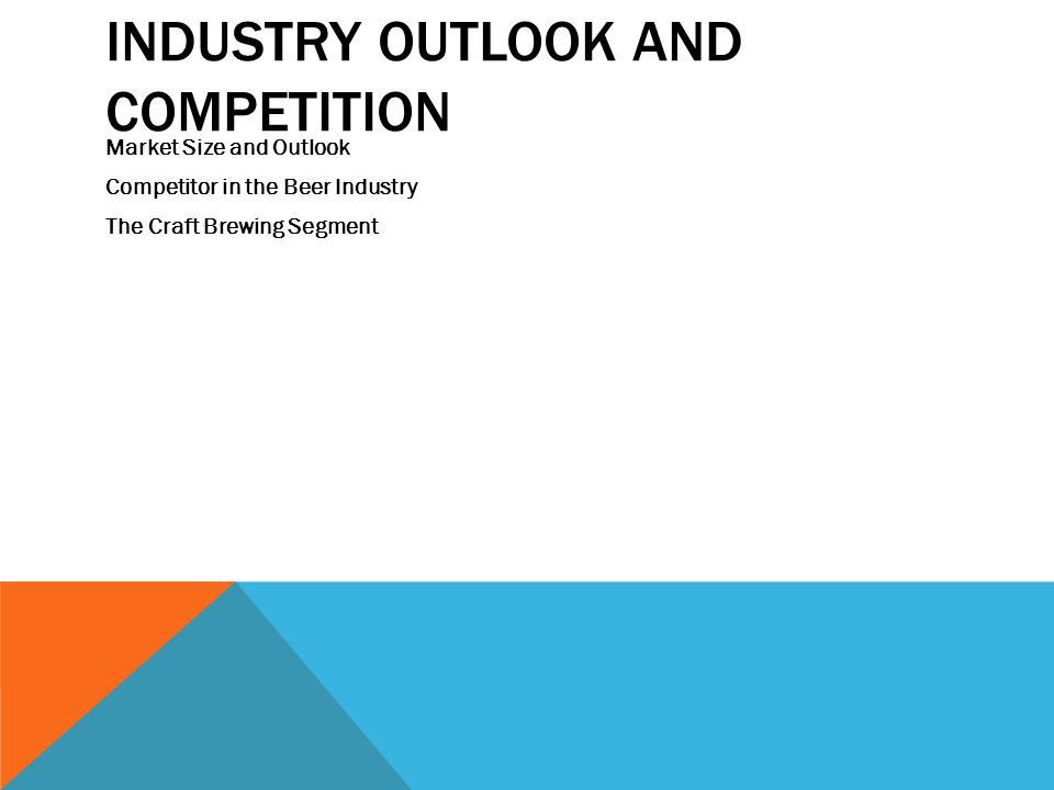 Industry Outlook and Competition