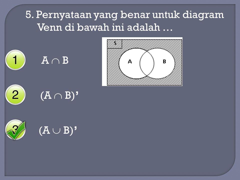 Oleh sanusi s guru matematika smp negeri 7 yogyakarta ppt pernyataan yang benar untuk diagram venn di bawah ini adalah ccuart Images