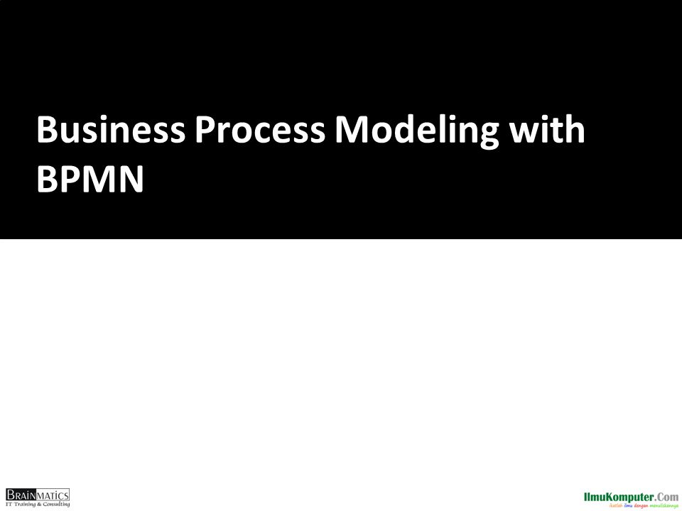 Business Process Modeling with BPMN